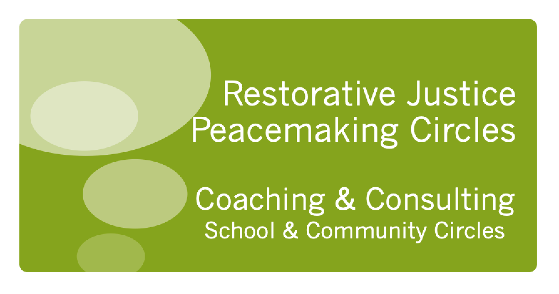 Read more about the article Peacemaking Circle Coaching Introduction