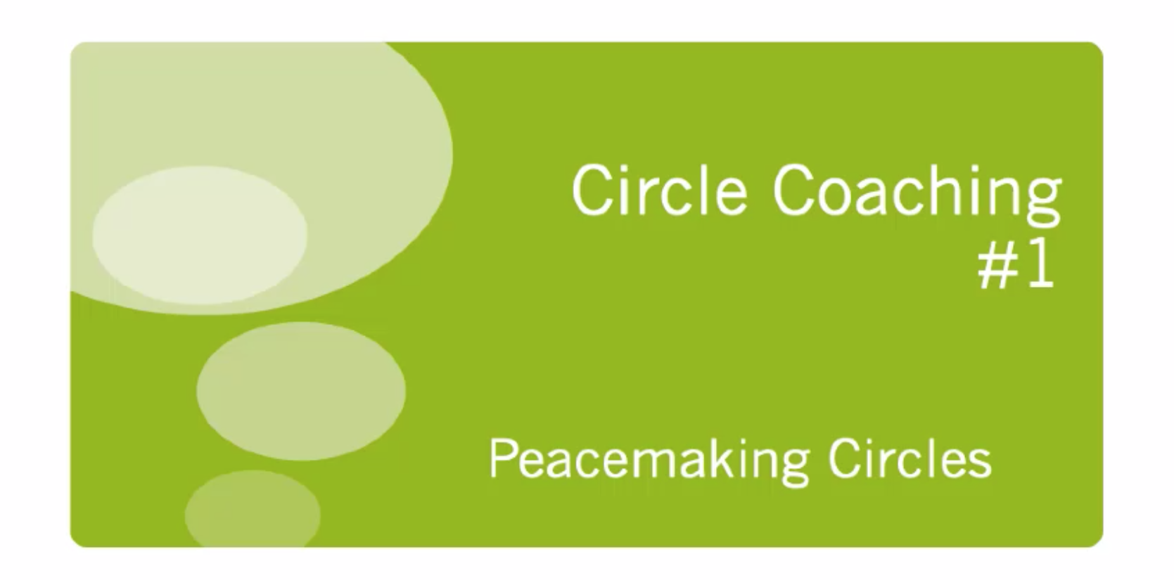 Read more about the article Got Circle Keeper Questions? 10 minute coaching